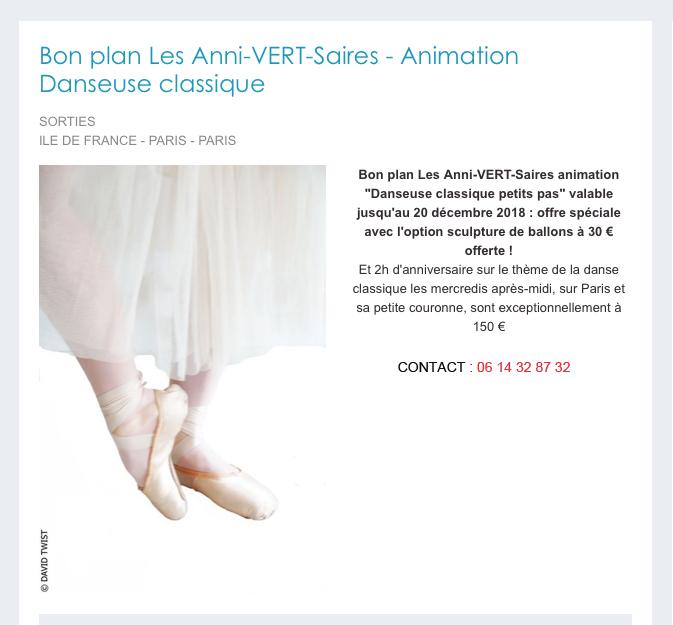 """BON PLAN """"Danseuse Classique"""".jpg"""