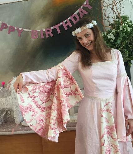 Robe rose 2